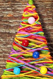 christmas tree projects for preschool birthday decoration