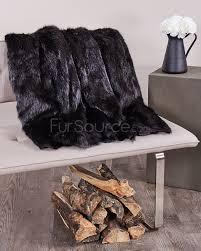 Deer Hide Tanning Companies Black Beaver Fur Pelts Tanned Skins Fursource Com