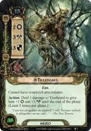 treebeard the treason of saruman lord of the rings lcg lord of