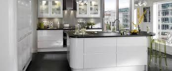 Howdens Kitchen Design Howdens Gloss White Intigrated Handle Sunrise Kitchens Kitchen