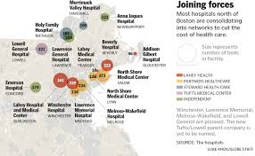 Map Of Boston Ma Growing Lahey Health Network Able To Keep Costs Below Boston U0027s