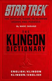 safura online diary november 2011 the klingon dictionary english klingon klingon english star trek