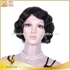 how to crochet black women hair 100 human hair crochet braid remy wave human hair short bob lace front wig buy