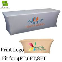 6ft Imprinted Table Cover Custom Buy Exhibition Table Covers And Get Free Shipping On Aliexpress Com