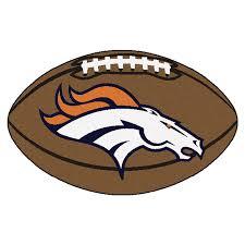 Miami Dolphins Rug Amazon Com Fanmats Nfl Denver Broncos Nylon Face Football Rug