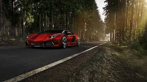 police lamborghini wallpaper red lamborghini aventador on a forest road wallpaper car