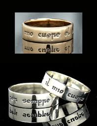 Italian Wedding Rings by Product Detail Poesy Rings My Heart Is Yours Forever Traditional