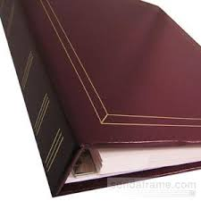 holson photo albums 80 page magnetic in burgundy by holson picture frames