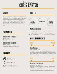 Resume Sample For Store Manager by Standout Resume Templates
