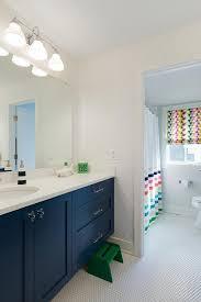 Navy Blue Bathroom Vanity Green Step Stool At Navy Blue Bath Vanity Transitional