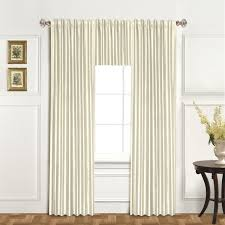 Faux Dupioni Silk Curtains United Curtain Co Dupioni Silk Single Curtain Panel U0026 Reviews