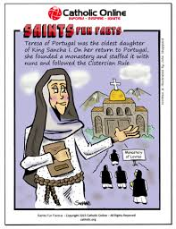 catholic shop online saints facts st teresa of portugal by catholic shopping