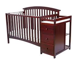 Convertible Cribs With Attached Changing Table by Amazon Com Dream On Me Niko 5 In 1 Convertible Crib With Changer