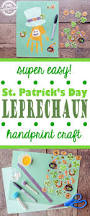 handprint leprechaun craft for st patrick u0027s day