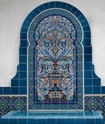 islamic persian tile fountain iran art u0026 culture u0026 history