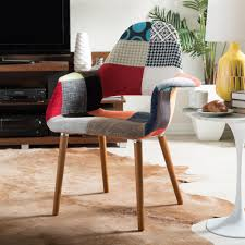 baxton studio forza multi color fabric upholstered dining chairs