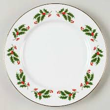 christmas plate all the trimmings christmas porcelain at replacements ltd