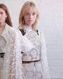 Carolyne Ulrikke Hoyer Backstage At The Rodarte Ss17 Show Photo By