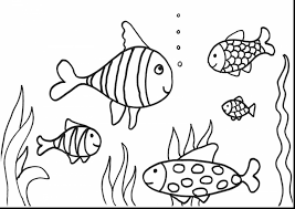 marvelous fish drawing coloring pages fish coloring
