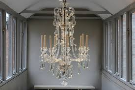 Swedish Chandelier Outstanding 19th Century Swedish Nine Arm Glass Chandelier