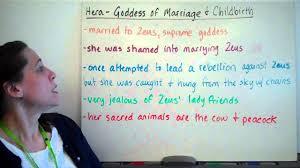 hera goddess of marriage and childbirth youtube