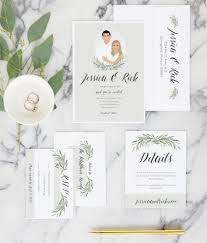 Rsvp On Invitation Card Greenery Wedding Rsvp Cards Miss Design Berry
