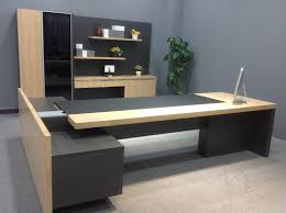 Office Table Designs High Quality Pine Wood Desk Office Furniture Fashion Executive