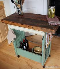 rolling island kitchen 19 kitchen islands made from totally things