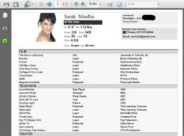 Resume Samples With Photo by Acting Resume Remedy Nycastings