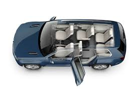 jeep volkswagen new volkswagen crossblue 6 7 seater suv concept in more detail