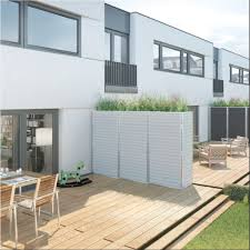 balkon trennwand trennwand für garten terrasse oder balkon sichtschutz