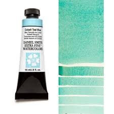 cobalt teal blue 15ml tube u2013 daniel smith extra fine watercolor