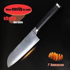 quality knives for kitchen 7 inch santoku knife damascus kitchen knives high quality japan