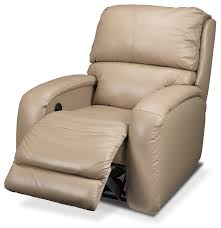 furniture fabian iv leather power recliner leon u0027s for wall hugger