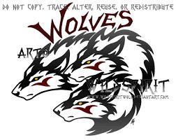 three wolf logo design by wildspiritwolf on deviantart