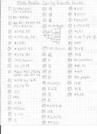 Math Review Worksheets Math Models Worksheets Mrs Maki U0027s Website