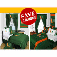 Bedroom Sets Miami Buy Today Miami Hurricanes Bedding Bedding Sets Comforter
