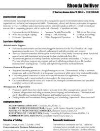 General Career Objective Examples For Resumes by Career Objective Examples In Customer Service