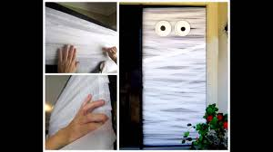 great halloween door decorating ideas youtube