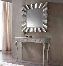 Mirror And Table For Foyer Console Table Design Console Table And Mirror Set From