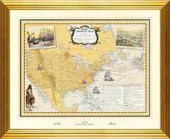 New York And Boston Map by Irish Immigration U0026 Migration To America U0026 Canada 1847 Map Genuine
