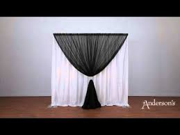 professional wedding backdrop kit pipe and drape portable backdrop kit setup step by step