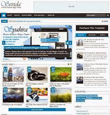 free download sevida responsive blogger template templates 2015