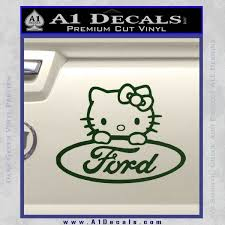 ford kitty decal sticker a1 decals