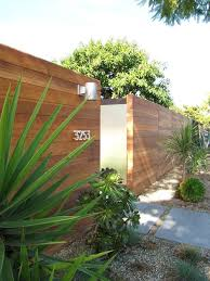 Modern Backyard Fence by Modern Wood Fence Houzz