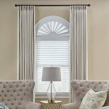 Sheer Roller Blinds For Arched Custom Wood Window Arch Blinds Com