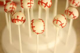 tulle sweet boutique baseball cake pops