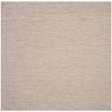 Outdoor Rug Square Beige Square Outdoor Rugs Rugs The Home Depot