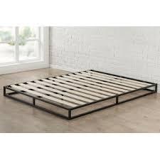 No Box Spring Bed Frame Zinus Modern Studio 6 Inch Platforma Low Profile Bed Frame