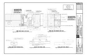 fire station floor plans interior and exterior elevations